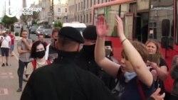 В Беларуси задержали участников мирных пикетов
