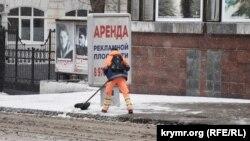 Ситилайт на улице Ленина в Севастополе