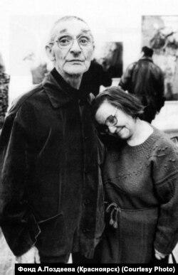 Андрей и Валентина Поздеевы