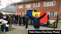 La Ambasada Moldovei din Bruxelles în ziua alegerilor