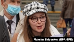 Valeria Vetoshkina was one of two lawyers who filed the appeal with the Moscow First Court of Appeals on May 6. (file photo)