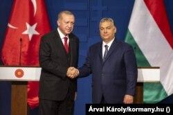 Recep Tayyip Erdogan és Orbán Viktor