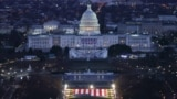 "U.S. -- The US Capitol Building is prepared for the inauguration ceremonies for President-elect Joe Biden as the ""Field of Flags"" are placed on the ground on the National Mall on January 18, 2021 in Washington, DC."