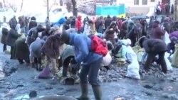 Улица Грушевского - перемирие