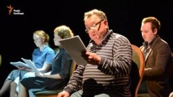 У Києві прочитали п'єсу литовського режисера про війну на Донбасі