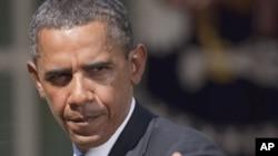 Президент США Барак Обама. Вашингтон, 31 августа 2011 года.