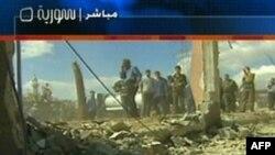 انفجار روز شنبه دمشق هفده کشته بر جای گذاشت.(عکس: AFP)