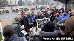 Protest fotoreportera i fotografa