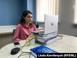 Наталія Рябцева на співбесіді з міністром охорони здоров'я Максимом Степановим