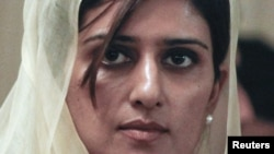 Пакистанската министерка за надворешни работи Хина Рабани Кар.