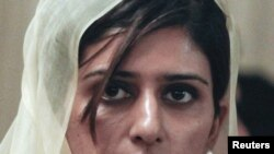 Хина Раббани Хар, Пәкістан сыртқы істер министрі.
