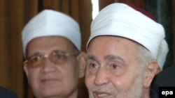 Al-Azhar's Muhammad Sayed al-Tantawi (file photo)
