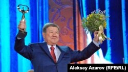 Алматы әкімі Ахметжан Есімов. Алматы, 6 қыркүйек 2014 жыл.