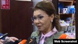 Депутат сената парламента Казахстана Дарига Назарбаева.