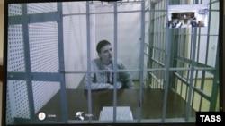 Надія Савченко в суді 25 лютого, 2015 року
