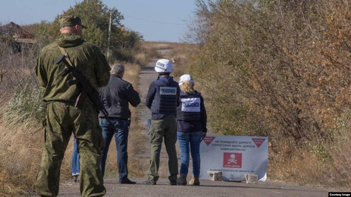 Началось разведение сил вблизи Богдановки и Петровского