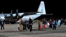 Grupi i parë i afganëve arrin në Kosovë