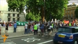 Protesters Rally In London Against Possible Attack On Syria