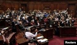 Голосование в парламенте Уругвая 10 апреля 2013 года