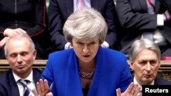 Kryeministrja britanike Theresa May