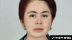 Тәжікстан парламенті отбасы мен әлеуметтік қорғау комитетінің төрайымы Хилолби Курбонзода.