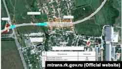 Схема траси «Таврида» в Криму
