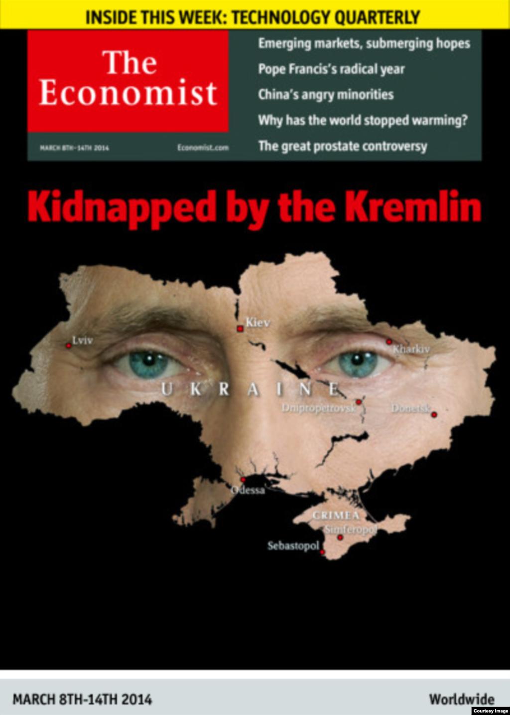 """Маҷаллаи бритониёии The Economist: """"Инро Кремл дуздидааст"""""""