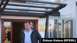 Milorad Dodik ispred Kaldere, 20. oktobar 2012. foto: Erduan Katana