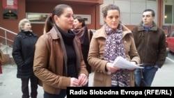 Санела Шкриељ и Елена Димушевска.