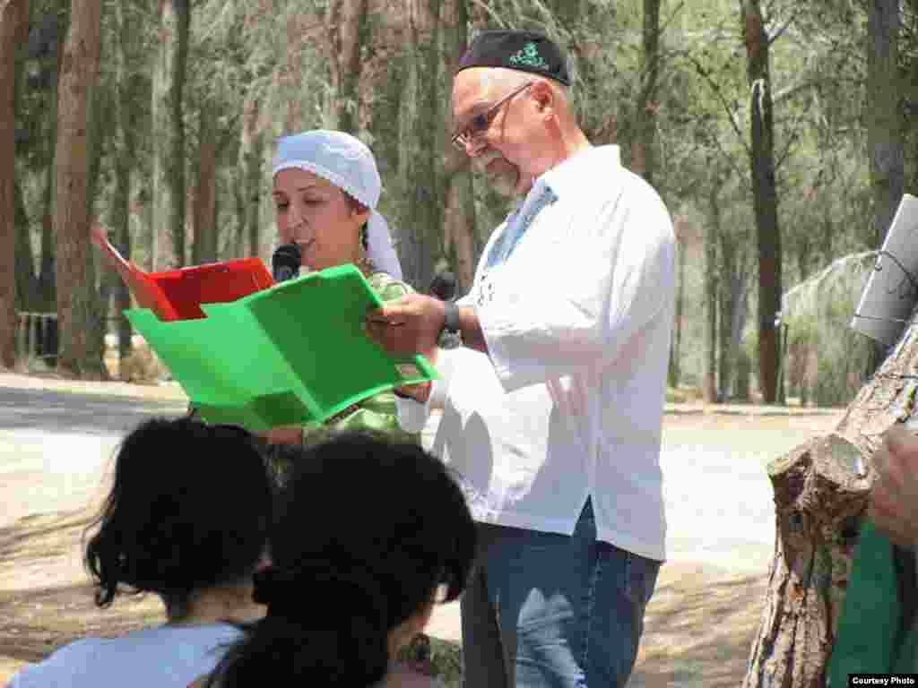 Израил татарларының Сабан туе ачылышы