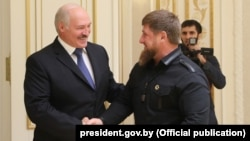 Александр Лукашенко и Рамзан Кадыров (архивное фото)