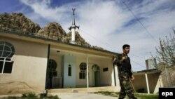 مسجد في إحدى قرى إقليم كردستان العراق