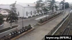 Залізничний вокзал Сімферополя