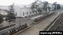 Сімферопольський вокзал, 19 січня 2015 року