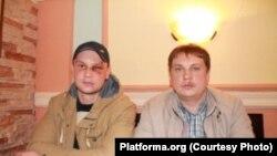 Павал Кавалёнак і Вячаслаў Гаўрыленка. Фота platforma.org