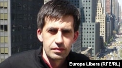 Moldova - Iulian Ciocan, RFE/RL journalist from Chisinau in New York, undated