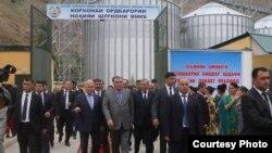 Президент Раҳмон дар ноҳияи Шуғнон