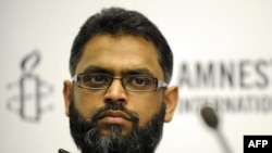 British human rights campaigner Moazzam Begg