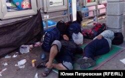 Беженцы с Ближнего Востока в Белграде