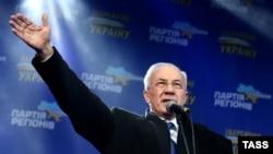 Азаров на провладному мітингу в Києві, 14 грудня 2013 року