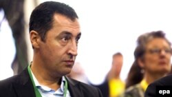 Netehrlands -- German Green party leader Cem Ozdemir attends the 24th Spring Congress of the European Green Party in Utrecht, May 20, 2016