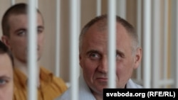 Мікалай Статкевіч, архіўнае фота з суду