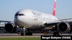 Nordwind Airlines-ə məxsus təyyarə