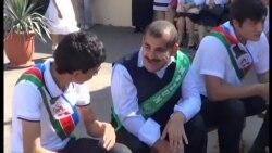 Qeyri-adi məktəbin «Son zəng»i [Video]