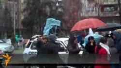 Опозициски автомобилски караван во Скопје
