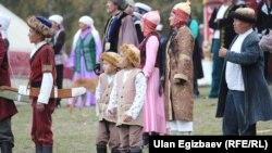 2016-жылы Көчмөндөр оюнунун бөлүгү өткөн Кырчын жайлоосу. Ысык-Көл облусу.