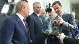 Встреча российского главы Крыма Сергея Аксенова и президента Сирии Башара Асада, октябрь 2018 года. Архивное фото