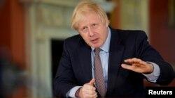 Британский премьер-министр Борис Джонсон.