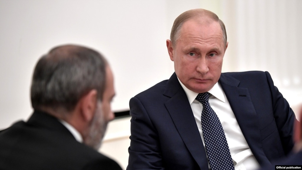Картинки по запросу Пашинян и Путин