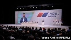 Vučić govori na sednici Glavnog odbora Srpske napredne stranke, 16. april 2019.